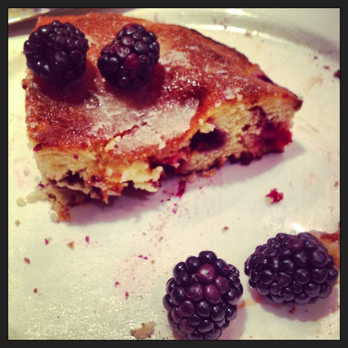 Blackberry and Lemon Crunch Cake 2