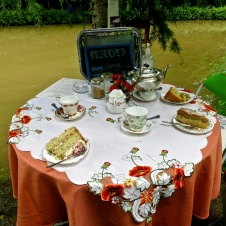 Jane's enchanted Tea Garden -- 1
