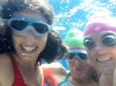 Underwater with Tori