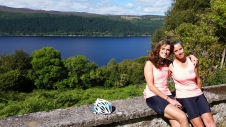 Overlooking Loch Ness