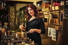 A complete set of Nigella Lawson's cookbooks, signed by the author herself